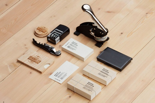 Sommelier wood stationary things organised neatly