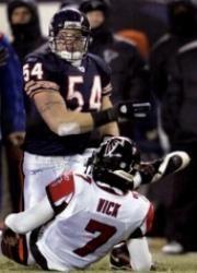Chicago Bears Brian Urlacher 2000-2012 2005 Defensive Player