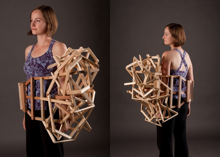 Junkculture: Tracy Featherstone: Wearable Sculpture
