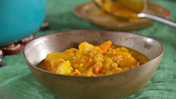 Pumpkin Vegetable Curry Stew
