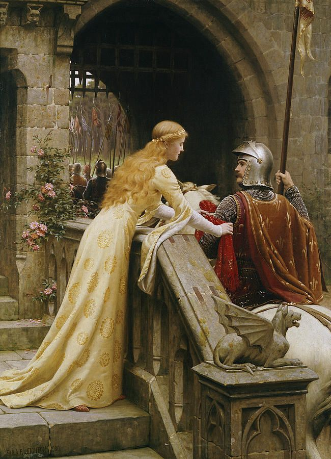God Speed - Edmund Blair Leighton