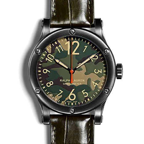 ラルフ ローレン RL67 サファリ 45MM クロノメーター カモフラージュ ダイアル (RALPH LAUREN RL67 Safari 45MM Chronometer Camouflage Dial)
