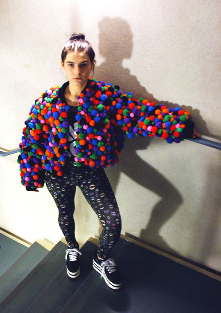 AWESOME THINGS clothing, POM POM POW jacket