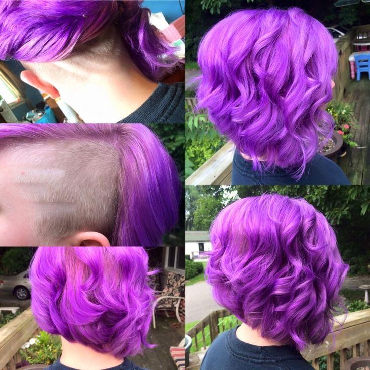 My New Hair We Used Joico Color Intensity Light Purple And