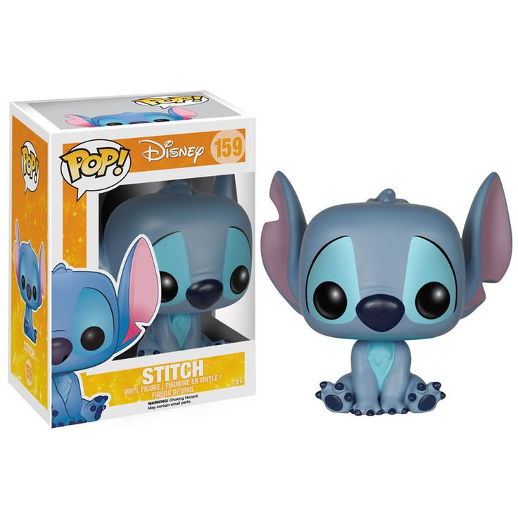 Disney Pop! Vinyl Figure Sitting Stitch [Lilo & Stitch]