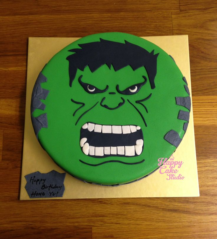 16 best Hulk images on Pinterest Hulk Hulk cakes and Birthdays