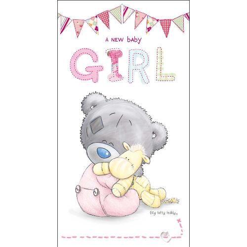 A New Baby Girl Tiny Tatty Teddy Me to You Bear