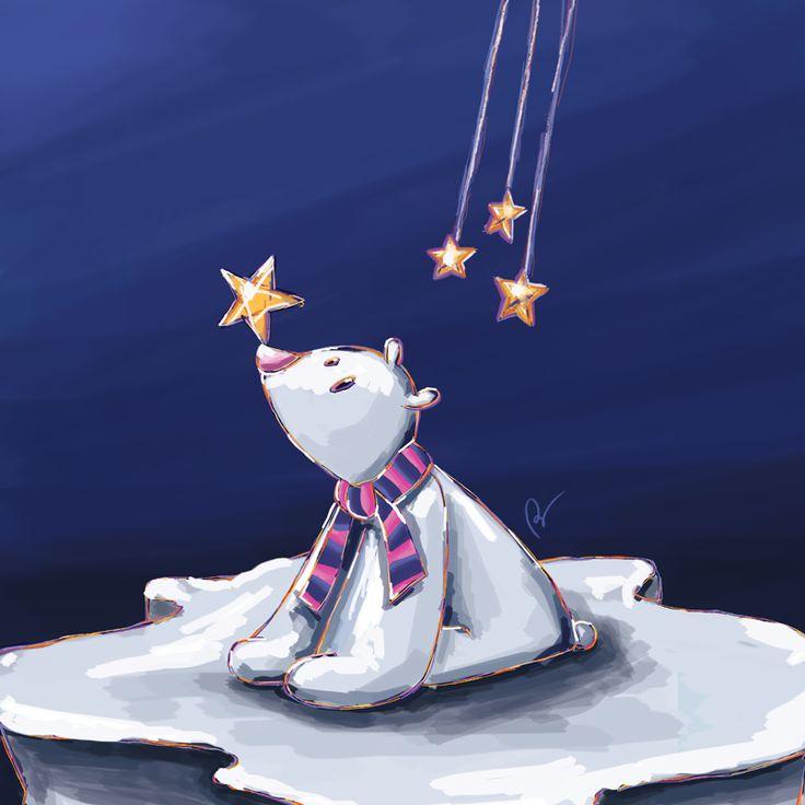 © Stillistic - Nathalie BRIULET - Tous droits réservés. https://www.behance.net/gallery/56081163/Polar-bear