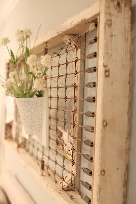 Joanna Gaines's Blog | HGTV Fixer Upper | Magnolia Homes Very rustic shabby chic- but I like it. wj