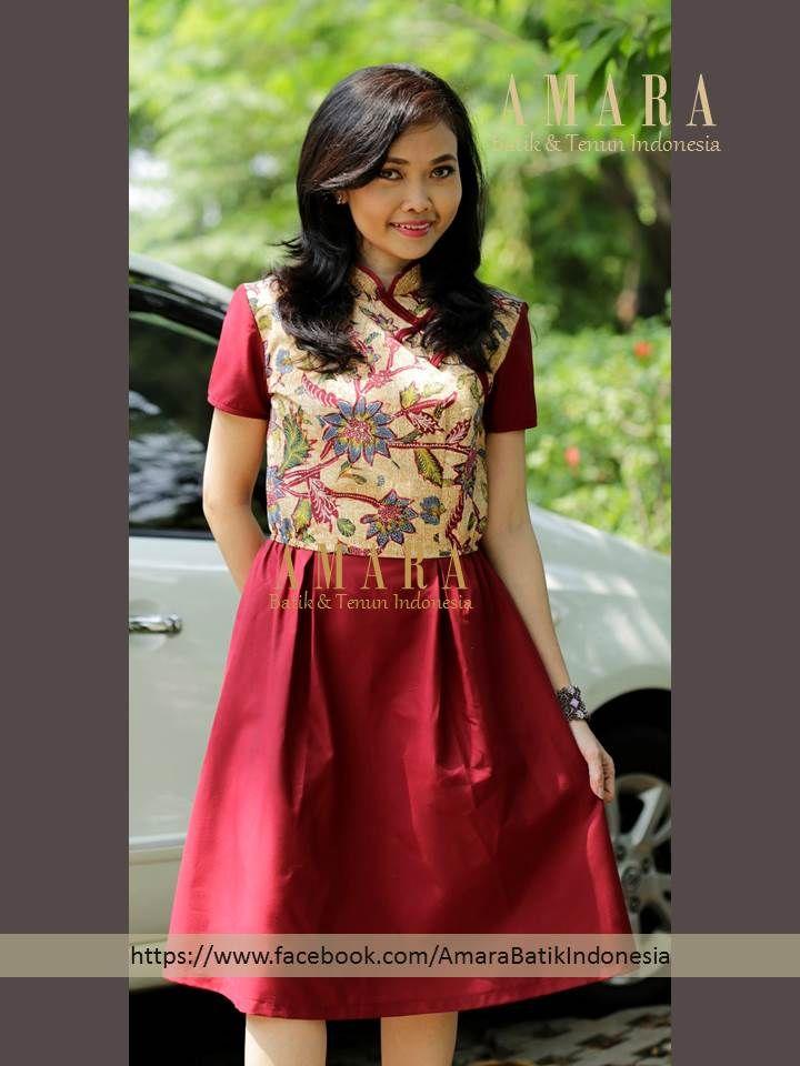 Dress Batik Lawas Tiga Negeri