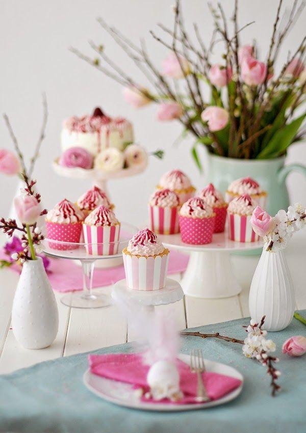 Pink Lemon Cupcakes | Fräulein Glücklich
