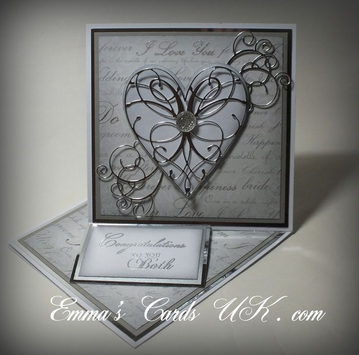 memory box dies heart card samples - Google Search, La rue heart and ...