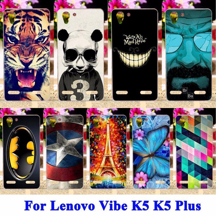 Soft TPU & Hard PC Cell phone Cases for Lenovo Vibe K5 Covers  K5 Plus Lemon 3 A6020 Housing Bag For Lenovo K5 Skin Shell Hood