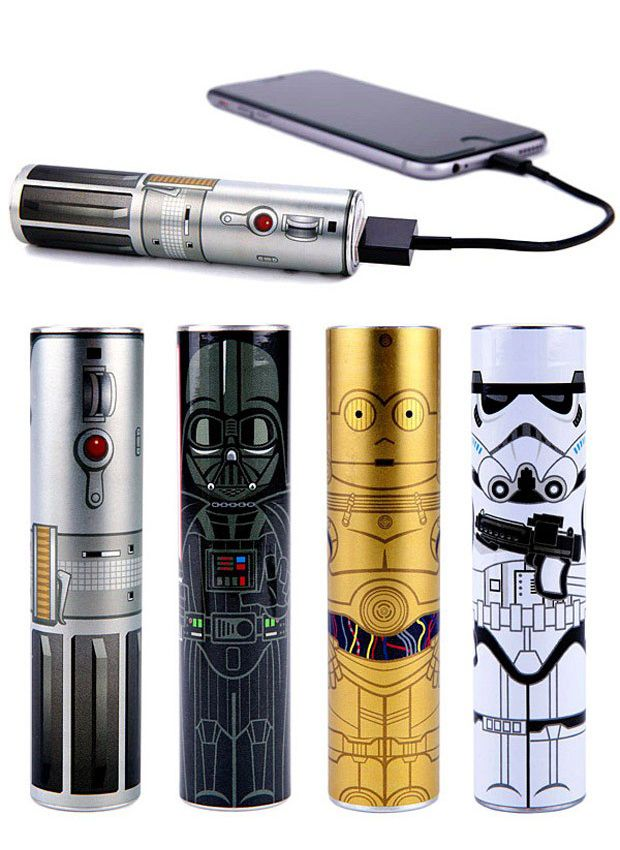 The Power of the Force is Strong in These Star Wars PowerTube Batteries  If you are out of the office a lot with your gadgets and running out of power is a concern, you'll want to carry an external battery pack to juice up. What there is a shortage of are cool looking battery packs. That has changed with the cool Mimoco PowerTube Star Wars Series of batteries.  See more at: http://technabob.com/blog/2015/01/30/mimoco-powertube-star-wars-batteries/#sthash.SbQLOGbE.dpuf