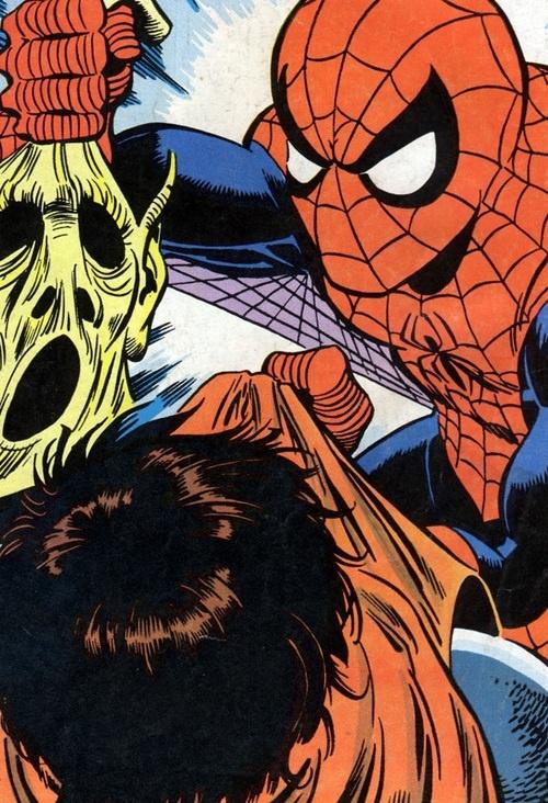 Homem Aranha vs Duende Macabro