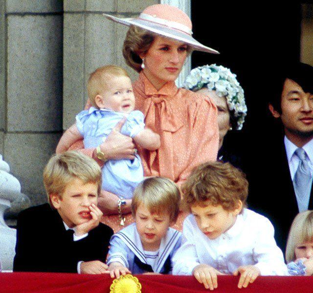 Princess Diana Prince William And Prince Harry Photo (C