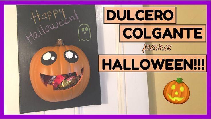 Dulcero colgante para Halloween (Dulcero para Halloween)