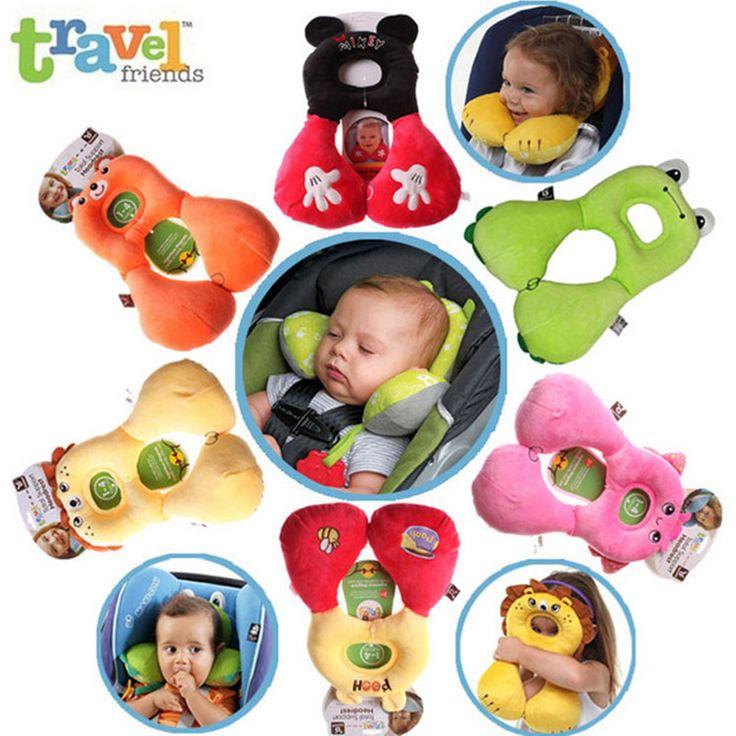 Baby Kussen Voor Kinderen Hoofdsteun Voor Auto Seat Hoofd Ondersteuning kussen Decor Reizen Kussen Kid Auto Slaap Voor 1-4 Jaar oude