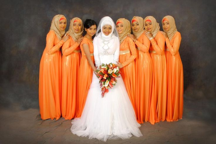 #Bride #Bridesmaid #AutumnThemed #HIjab #Maldives #Weddings