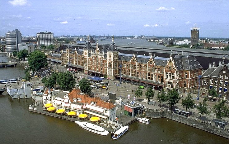 Central station amsterdam holland