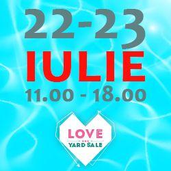 Love Yard Sale, a doua ediíe a lunii iulie, la Coppers Pub, strada Hristo botev 25.