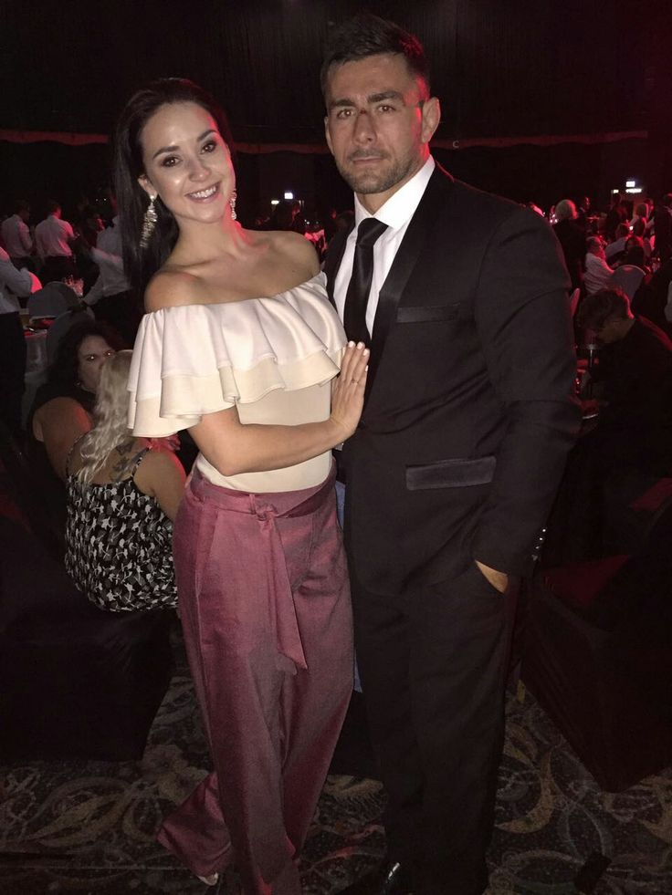 Robbie Coetzee with his lovely date, Camilla at the Lions Group's Awards Night.   #LeyaTheLion #Liontainment #BeThere #MyLionsMoment #LionsAwards2017