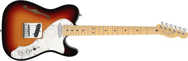 American Deluxe Telecaster® Thinline | American Deluxe Series | Fender®
