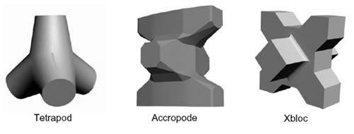 Artificial blocks: tetrapod, accropode, xbloc