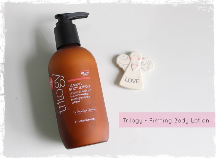 Trilogy Firming Body Lotion - review by Beauty Best Friend