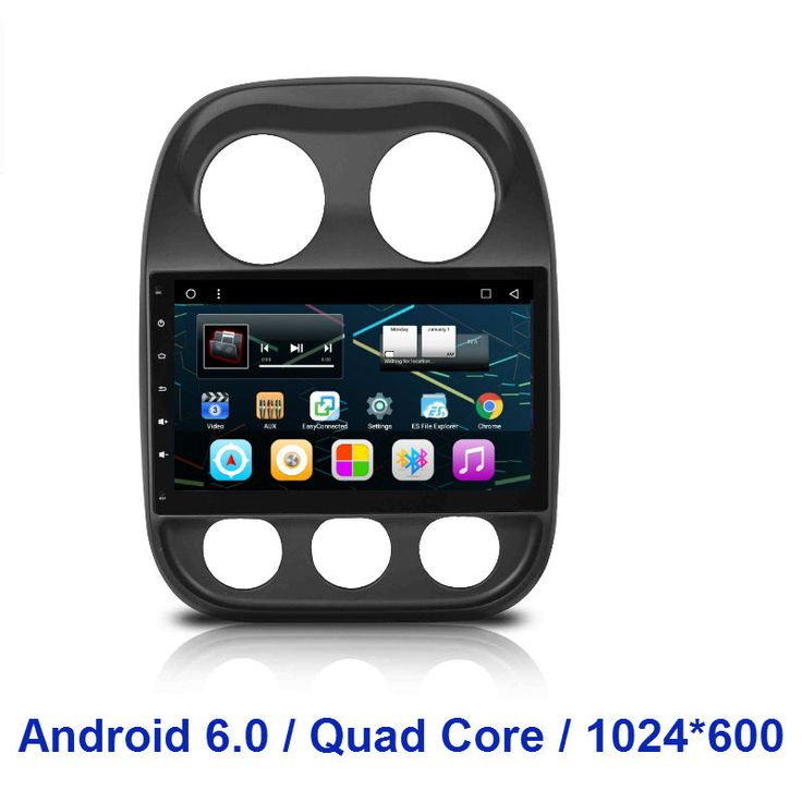 1024*600  2 din Quad Core Android 6.0 CAR Radio DVD GPS  player FOR Jeep Compass 2010 2011 2012 2013 2014 2015 Patriot 2011-2014