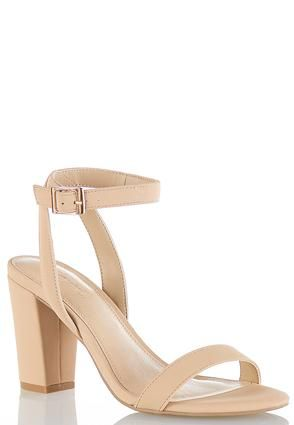eb7832840 Cato Fashions Wide Width Chunky Heel Strappy Sandals  CatoFashions