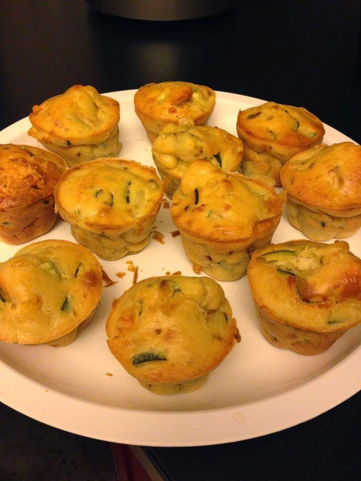 ⇒ Bimby, le nostre Ricette - Bimby, Muffin Salati con Zucchine e Salmone