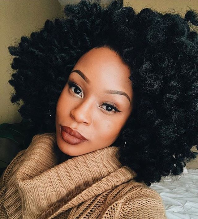 HAIRSPIRATION| Love these #crochetbraids on @kilahmazing ❤️ Amazing volume ➰➰➰ #voiceofhair  ✂️========================== Go to VoiceOfHair.com ========================= Find hairstyles and hair tips! =========================