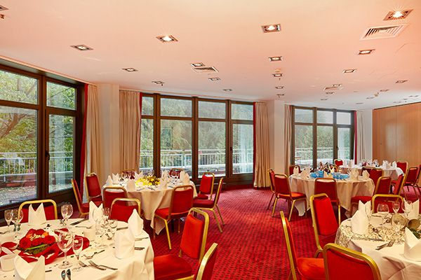 Festsaal / Banquet hall | H+ Hotel Bad Soden