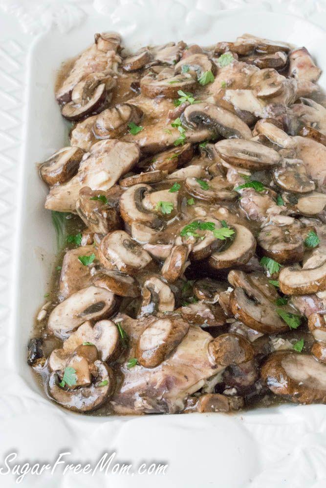 Crock Pot Chicken Marsala