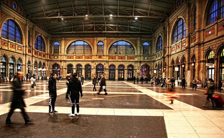 Zurich Train Station