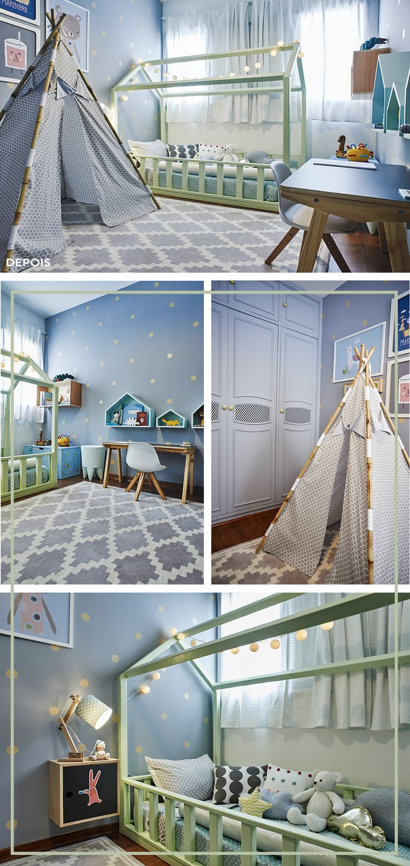 Makeover #2 inspiração para quarto de criança