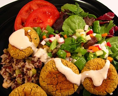 """baked falafel from """"appetite for reduction."""""""
