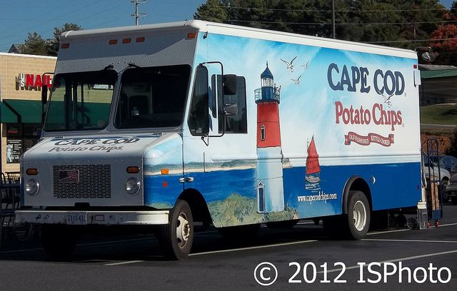Cape Cod Potato Chips Delivery Truck   Flickr - Photo Sharing!