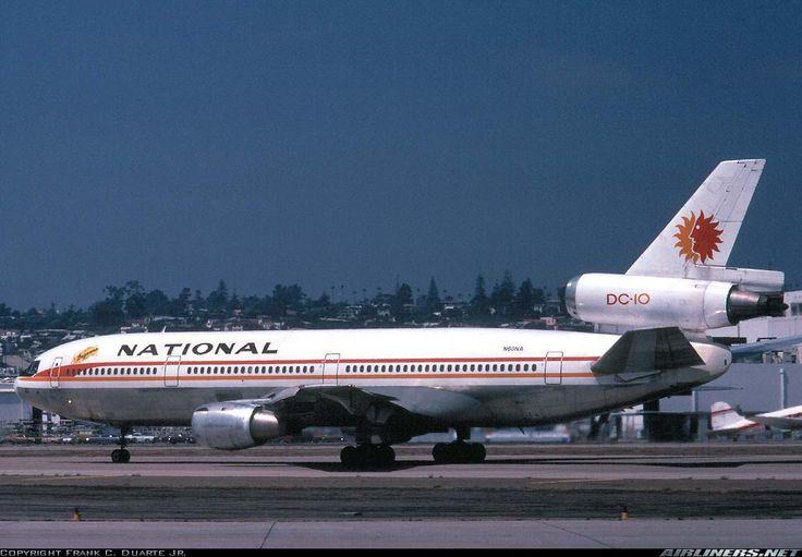 McDonnell Douglas DC-10-10 - National Airlines