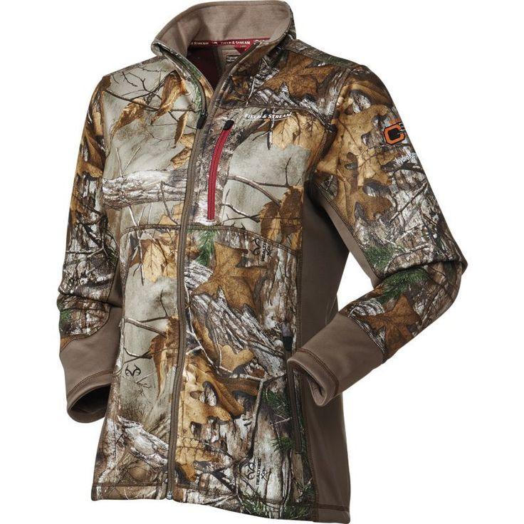 Field & Stream Women's Every Hunt C3 Softshell Hunting Jacket, Size: Medium, Brown