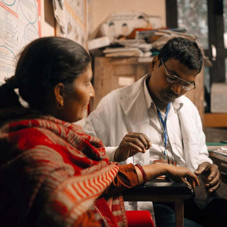 """""""When I first started here, we used to get so many sick people suffering from different kinds of diseases such as diarrhea, typhoid, Indian fever. In one month, we would receive at least 700, 800, even 900 patients, but now it's not even a hundred."""" -Dr Ram ⠀ 1/3 from the Ambote community in Nepal. ⠀ Photo: @jeremysnell"""