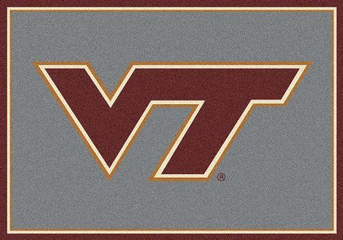 "Virginia Tech Hokies (Horizontal) 22"" x 33"" Team Door Mat by Milliken. $55.26. Get in the game...with an NCAA Virginia Tech Hokies Team Mat!Durability: Made of 100% nylon fiber, Team Mats are the most durable on the market.Washable: Even after repeated washings Team Mats never fade and stay the same shade.Safety: Patented non-skid backing assures that Team Mats will stay where you put them.Please allow 3-4 weeks for shipping."