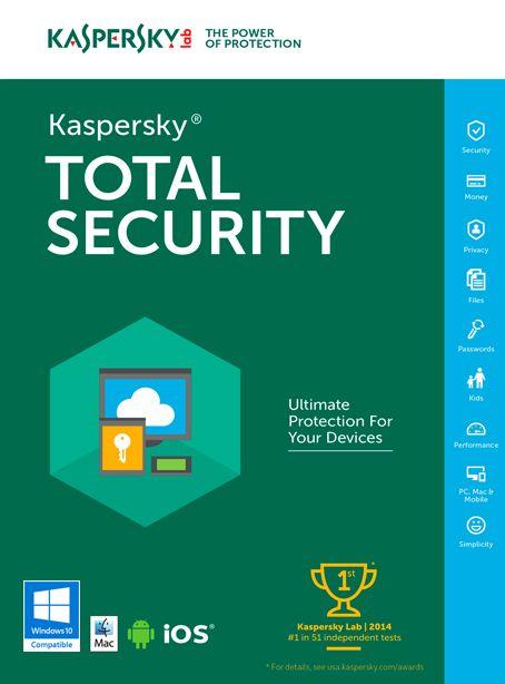 Kaspersky+Total+Security+Multi+Device  Kaspersky+Total+Security+Multi+Device+ofera+toate+instrumentele+necesare+pentru+a-ti+proteja+PC-ul+-+inclusiv+identitatea+digitala,+documentele,+fotografiile,+muzic...