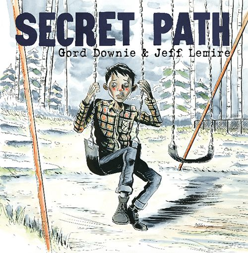 Secret Path is a ten song album by Gord Downie with a graphic novel by Jeff Lemire that tells the story of Chanie Wenjack, a twelve year-old boy who died fifty years ago on October 22, 1966, in flight from the Cecilia Jeffrey Indian Residential School near Kenora, Ontario, trying to walk over 400 miles home to the family he was taken from.