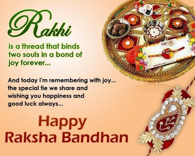 Happy Rakhi Text Message