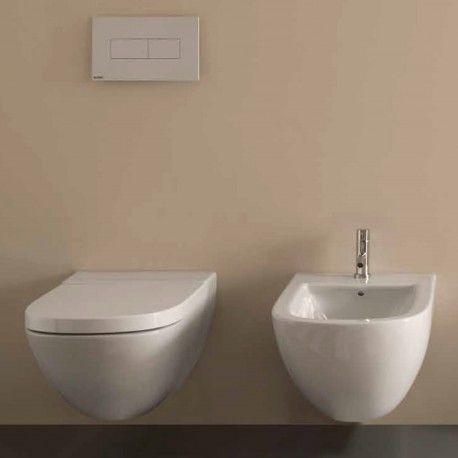 Sanitari Sospesi Ceramica Globo Stockholm MULTI WC + BIDET + SEDILE
