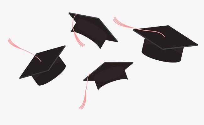 Education Teaching Graduation Season Bachelor Cap Graduate Cap Cartoon Hand Drawing Flip A Hat Educati Graduation Drawing Graduation Art Graduation Cap Drawing