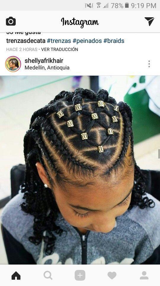 Kiddie Styles Cornrows Braids – Impressive Ideas Hairstyles for Little Black Gir…