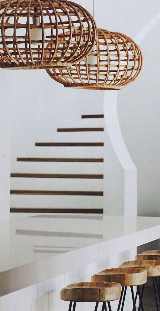 Lighting & stools
